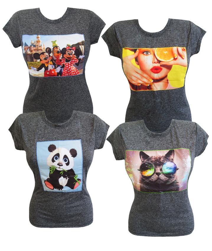 футболки женские трикотажные