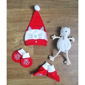 Фотография новогодняя детская шапка Миратекс