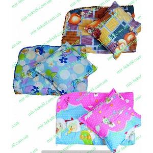 Фотография одеяло с подушкой детское Миратекс