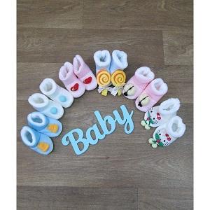 фотография ботиночки для новорожденных теплые миратекс