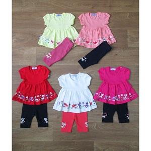 Фотография детский костюм для девочки летний Миратекс