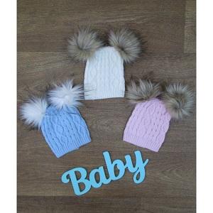 фотография вязаная шапочка для новорожденного турецкая миратекс