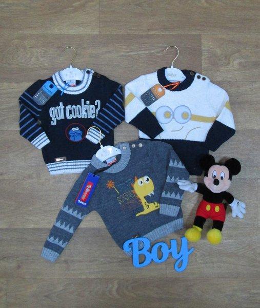 фотография детский свитер на мальчика Дитячий одяг, трикотаж оптом, інтернет-магазин