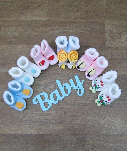 фотография детские пинетки для новорожденных Детская одежда Украина недорого