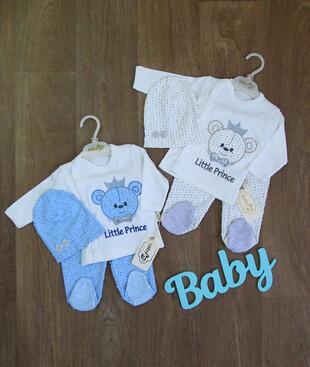 Комплект для новорожденного турецкий, интерлок