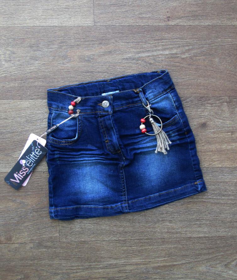 Детская джинсовая юбка Турция