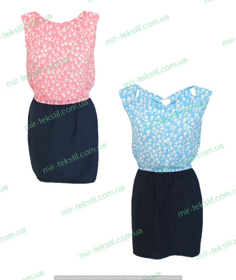 Платье женское летнее шифон