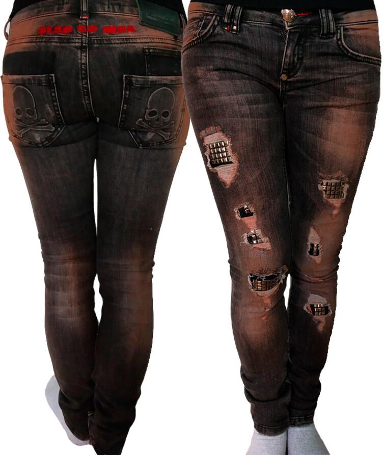 Модные женские джинсы турецкие