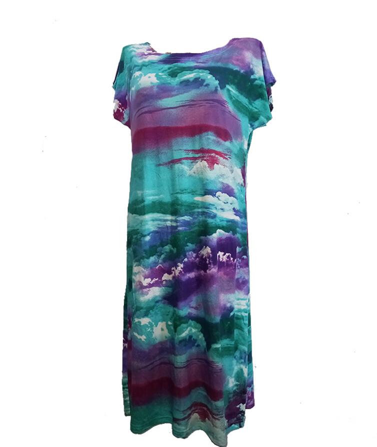 Женское летнее платье, вискоза люкс