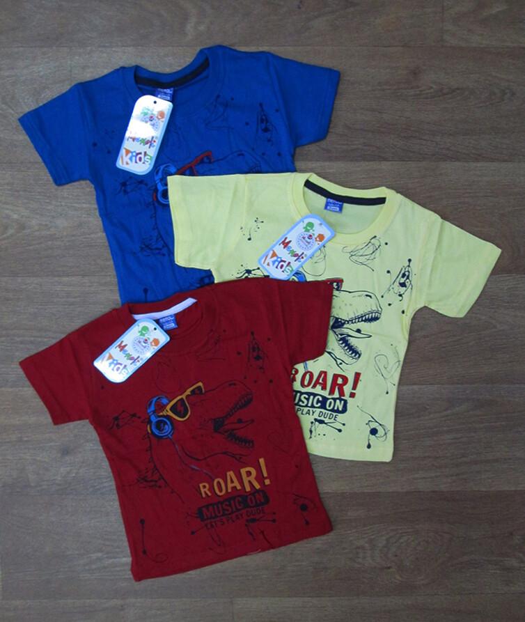 Детская футболка на мальчика Турция, хлопок