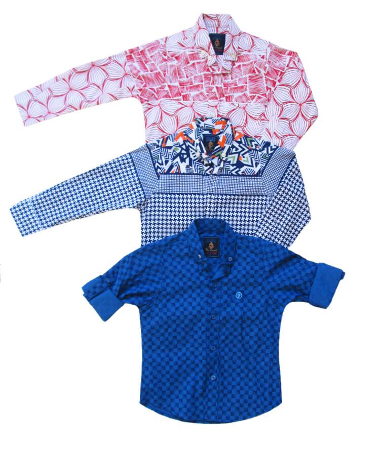 Турецкая класическая рубашка для мальчика