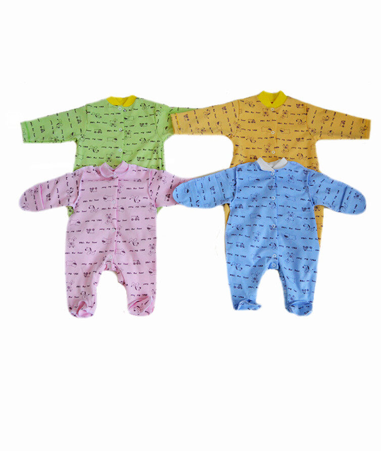 Комбинезон для новорожденных, интерлок