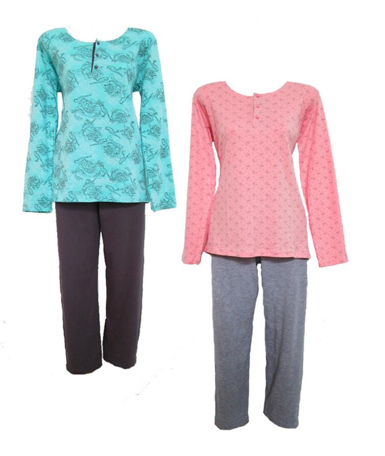 Женская турецкая пижама, интерлок