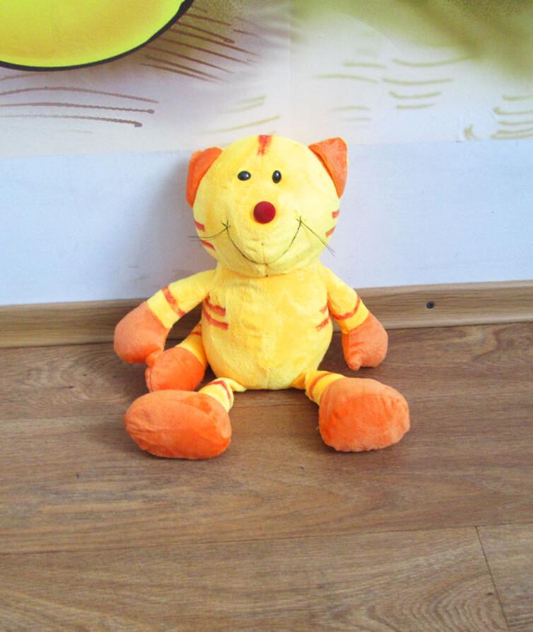 Мягкий оранжевый кот 36 см.