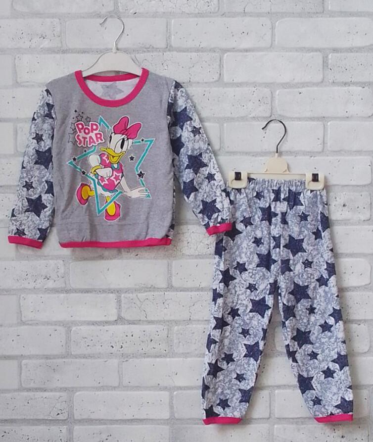 Детская пижама кулир под накат