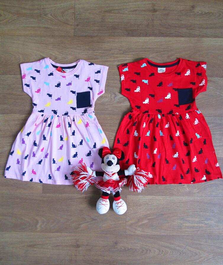 Платье для девочки летнее  Турция Mini Cilenbik 100% коттон