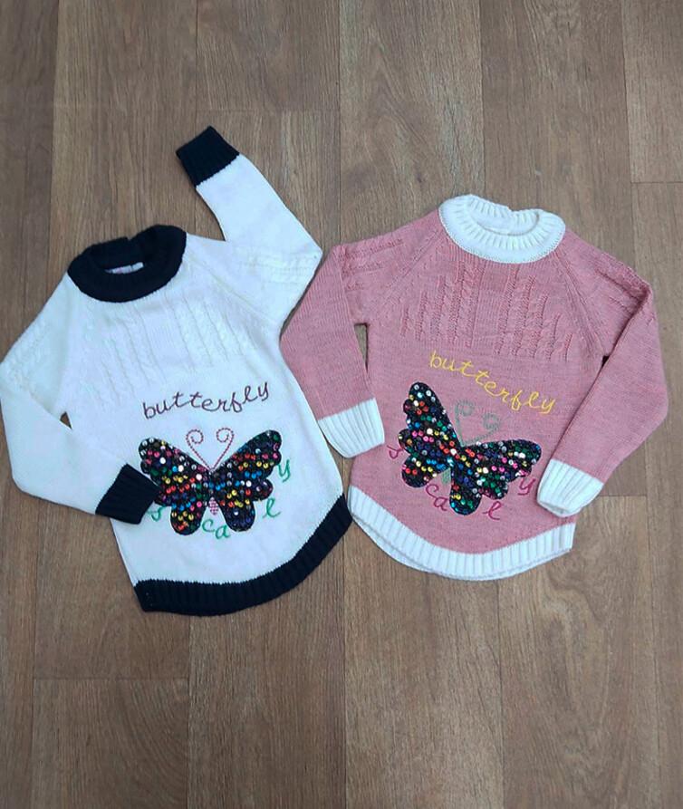 Детский свитер для девочки