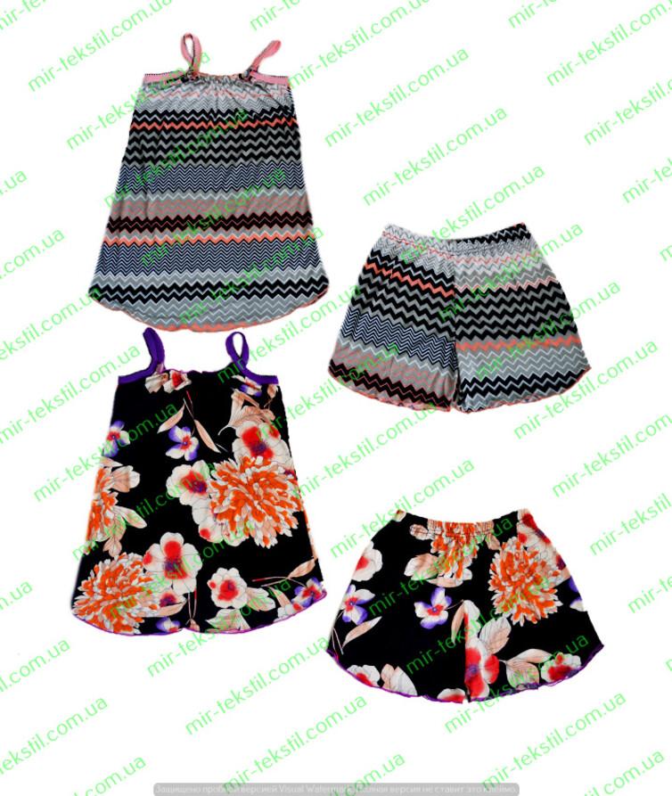 Пижама женская вискоза с шортами