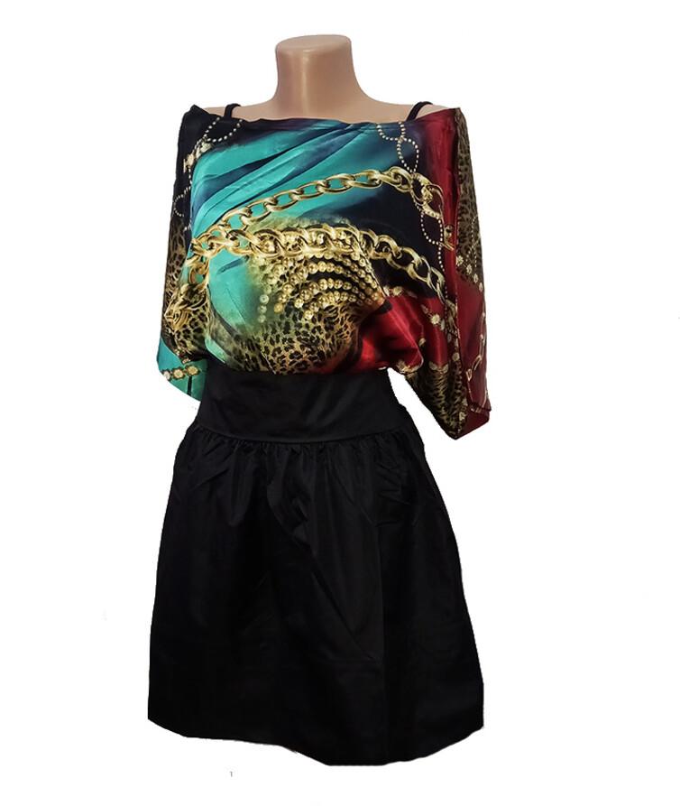 Женское платье, атлас