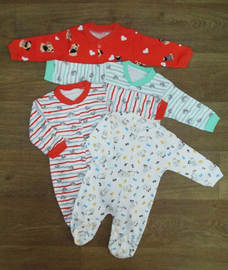 Человечек для новорожденных турецкий, интерлок