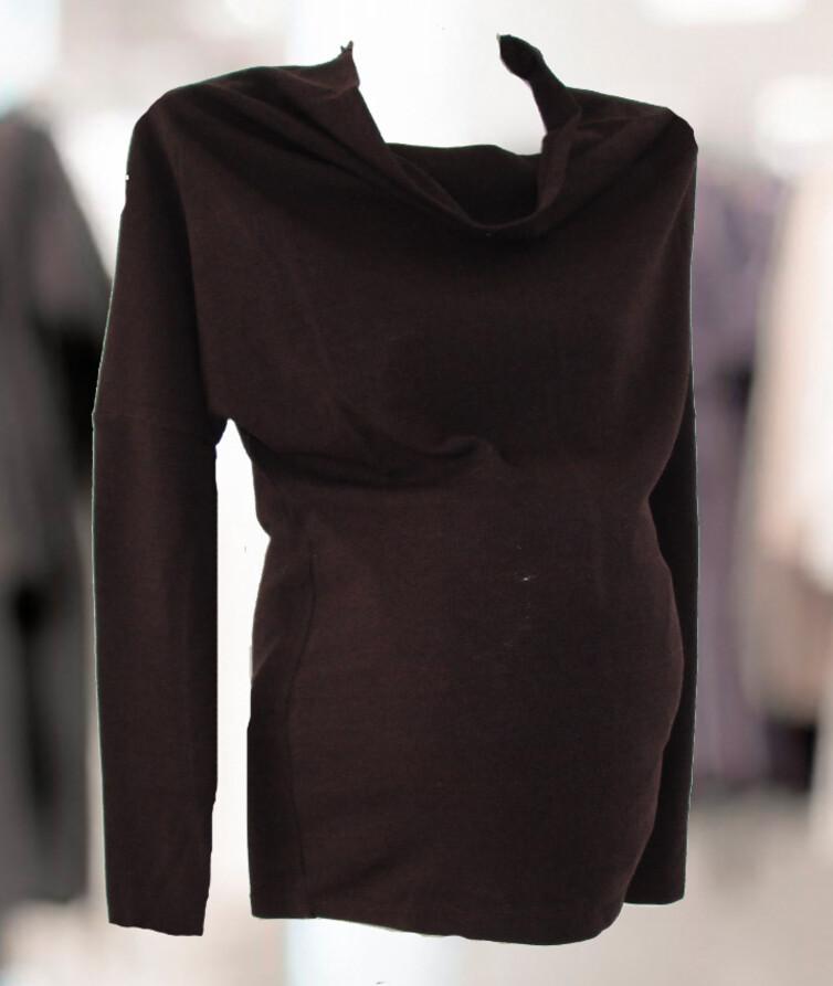 Шерстяной женский джемпер для будущих мам, тонкая шерсть