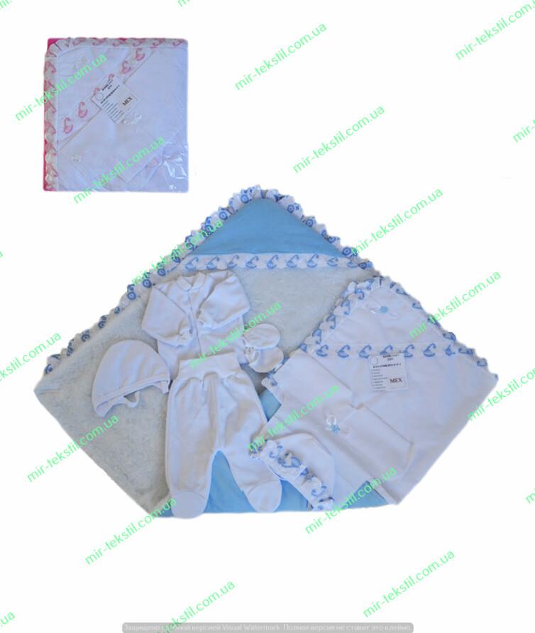Зимний конверт на выписку
