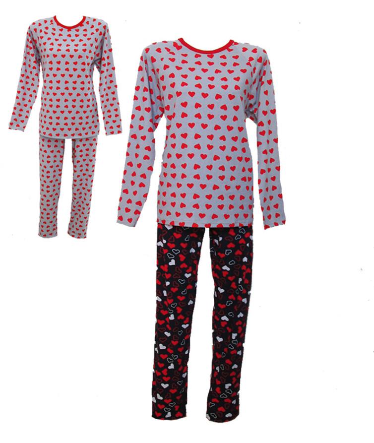 Пижама женская, стрейч кулир
