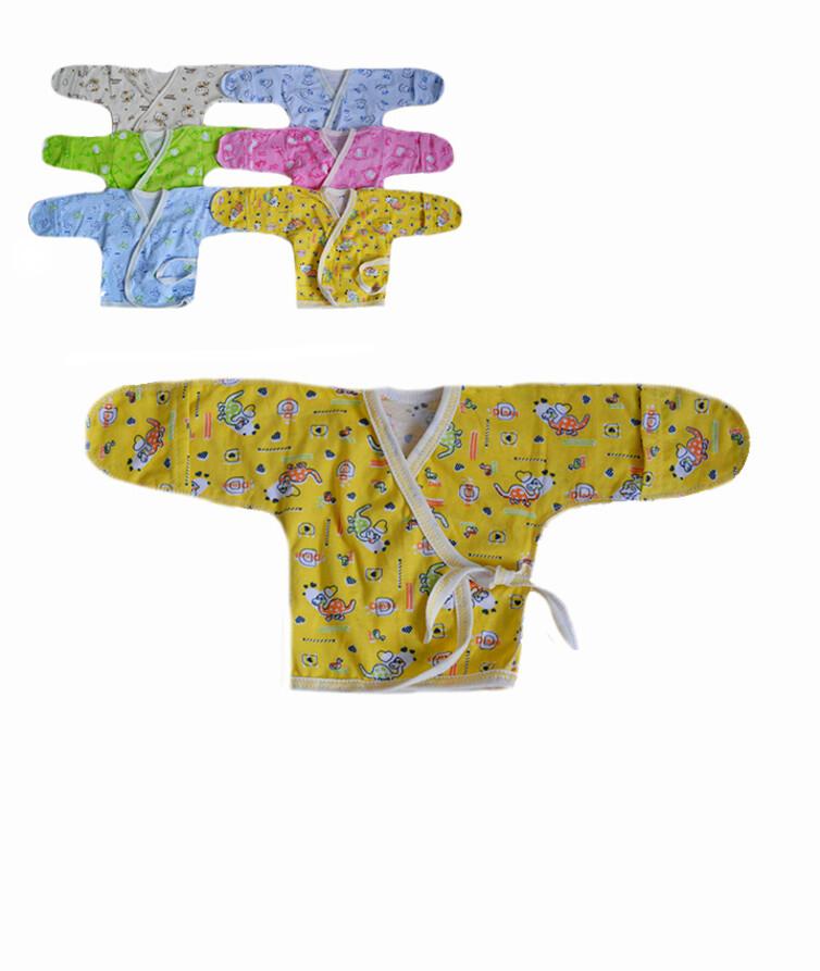 Распашонка для новорожденных на завязках