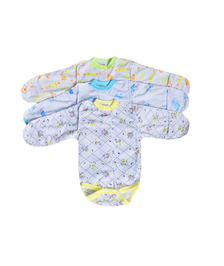 Боди для новорожденных  с длинным рукавом хлопок