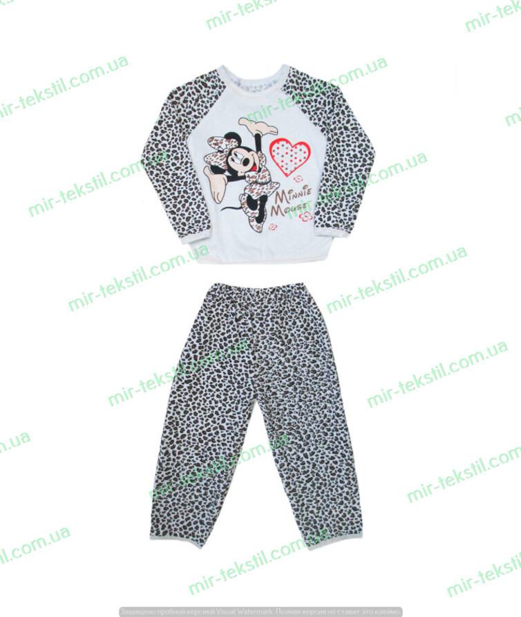 Пижама детская начес реглан под накат