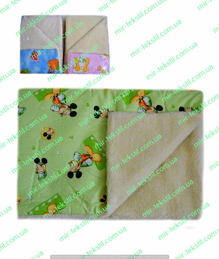 Одеяло детское на овчине ( бязь) 100/100