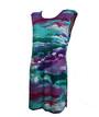 Женская туника цветная, вискоза люкс