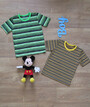 Детская футболка в полоску, вискоза
