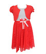 Детское нарядное платье с балеро на девочку Турция