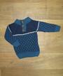 Детский свитер на мальчика турецкий на пуговицах, вязаный