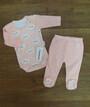 Комплект для малышей (боди + ползунки)