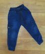 Детские джоггеры - джинсы для мальчика теплые Турция, на меху