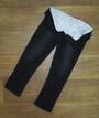 Детские джинсы для девочки на меху Турция, джинс + мех