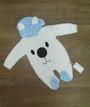 Комбинезон для новорожденных с капюшоном