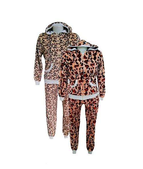 Женский тигровый костюм с капюшоном