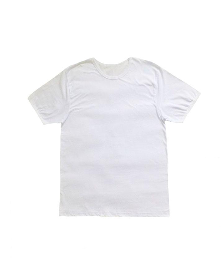 белая мужская футболка хлопковая